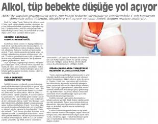 Alkol, tüp bebek tedavisinde düşüğe yol açabiliyor