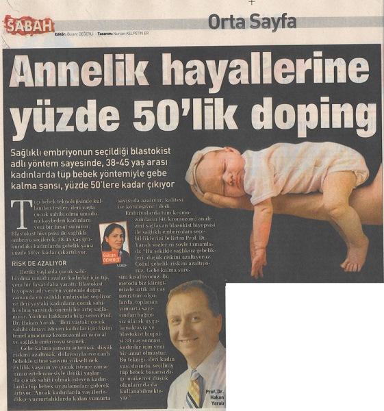 Annelik hayallerine %50'lik doping