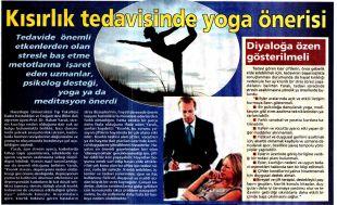 Kısırlık Tedavisinde Yoga Önerisi