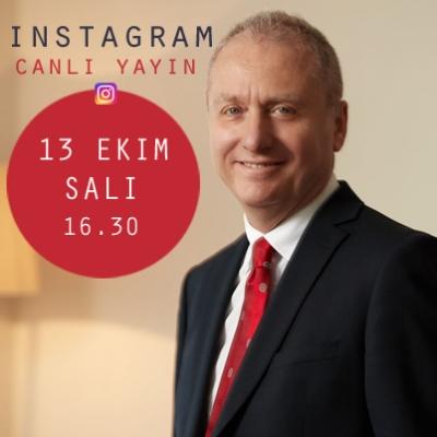 Prof. Dr. Hakan YARALI, Instagram Canlı Yayın