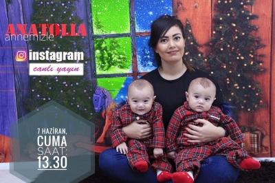 Anatolia Annemizle İnstagram Canlı Yayın!