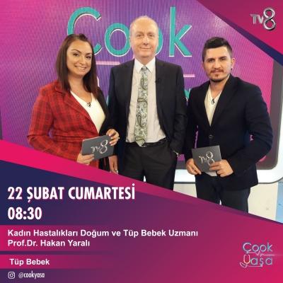 Prof. Dr. Hakan Yaralı TV8'de!