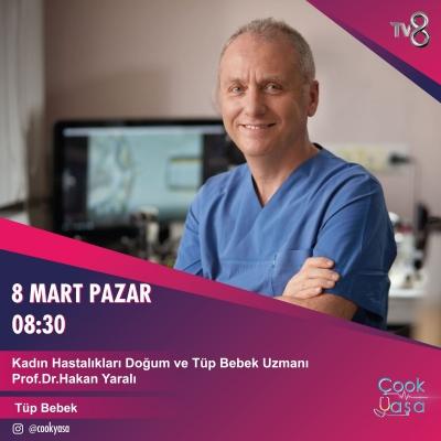 Prof.Dr. Hakan Yaralı TV8'de...