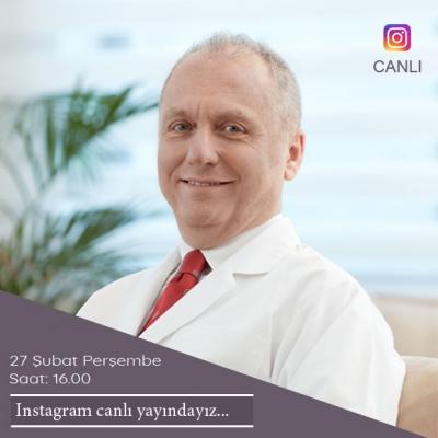 27 Şubat Perşembe, Instagram Canlı Yayındayız...