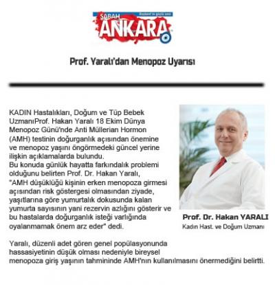 Hürriyet ve Sabah Ankara'dayız!