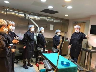 Çin'den gelen Tüp Bebek Uzmanlarına Klinik Turu