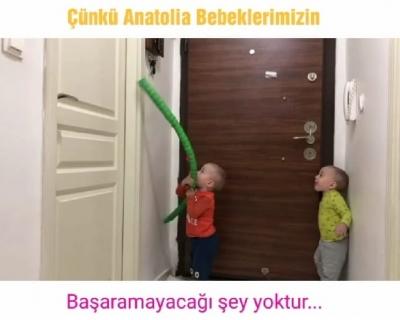 Anatolia bebeklerimizin sevimli ev halleri... #HikayemeOrtakOl  #BaşarıÖyküleri