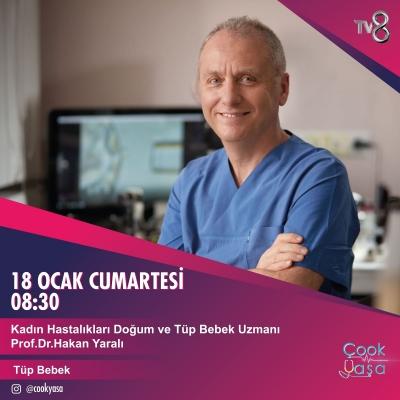 18 OCAK 2020 - Saat: 08.30'da TV8 ÇOK YAŞA PROGRAMINDAYIZ...