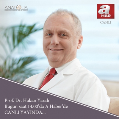 Prof.Dr. Hakan Yaralı - A Haber Canlı Yayında...