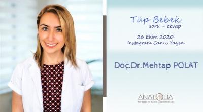 Doç.Dr. Mehtap POLAT - 26 Ekim2020 Instagram Canlı Yayın