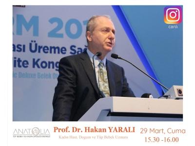 Prof. Dr. Hakan Yaralı - İnstagram Canlı Yayın