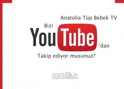 You Tube Kanalımıza davetlisiniz!        #YouTube: Anatolia Tüp Bebek TV